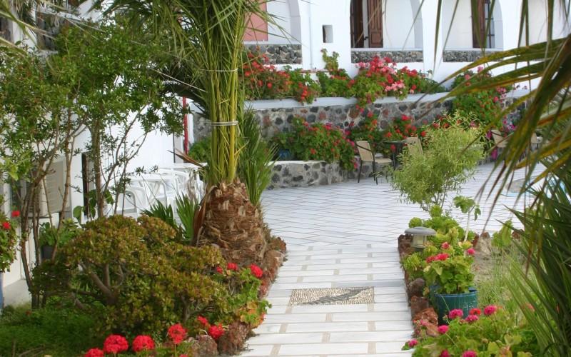 Haven på hotel Haroula, Santorini