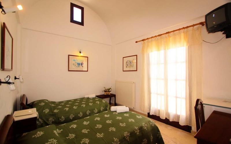 Værelse Hotel Haroula, Santorini