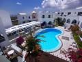 Polen set fra oven, Hotel Haroula Santorini