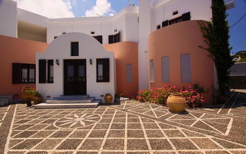Gårdhaven hotel Haroula, Santorini