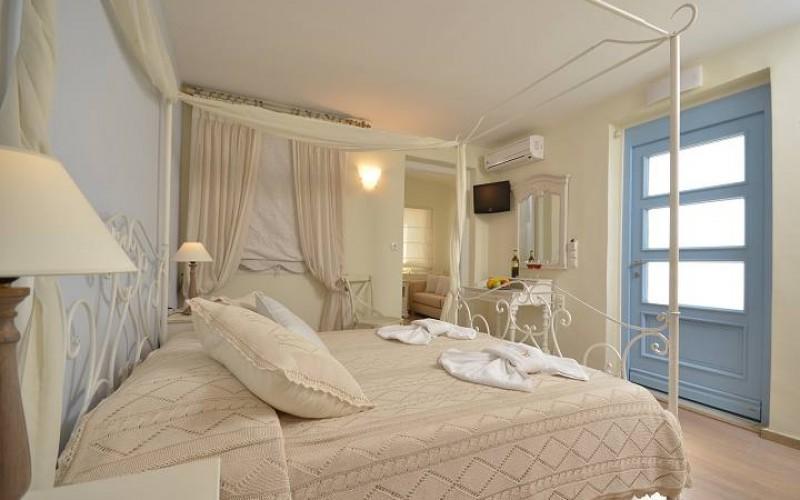 Værelse hotel Kymata, Naxos