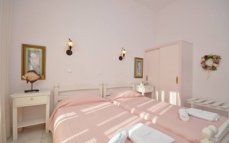 Dobbeltværelse hotel Kymata, Naxos