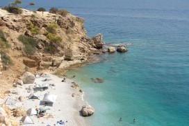 Stranden på Aegina