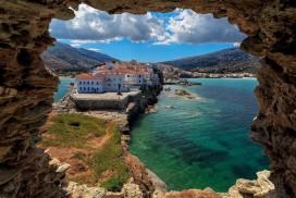 Smukke Andros i Kykladerne