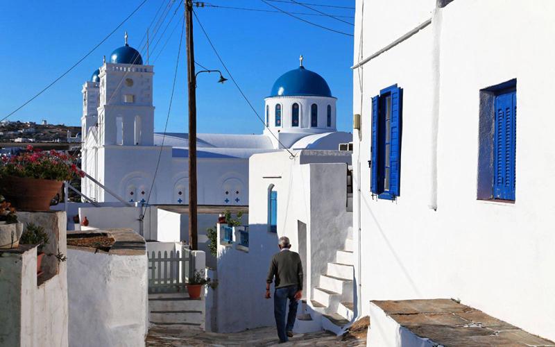 Tag på øhop til en perle i det Græske øhav