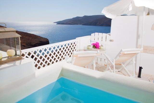 Hotel Tholaria Astypalea - udsigt over øen